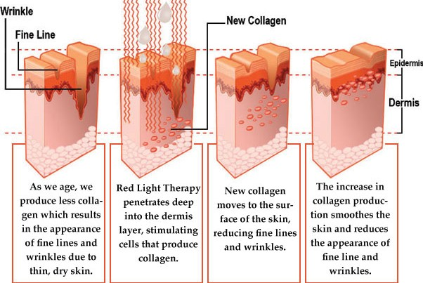How Red Light Therapy Works at Oahu's best indoor tanning salon