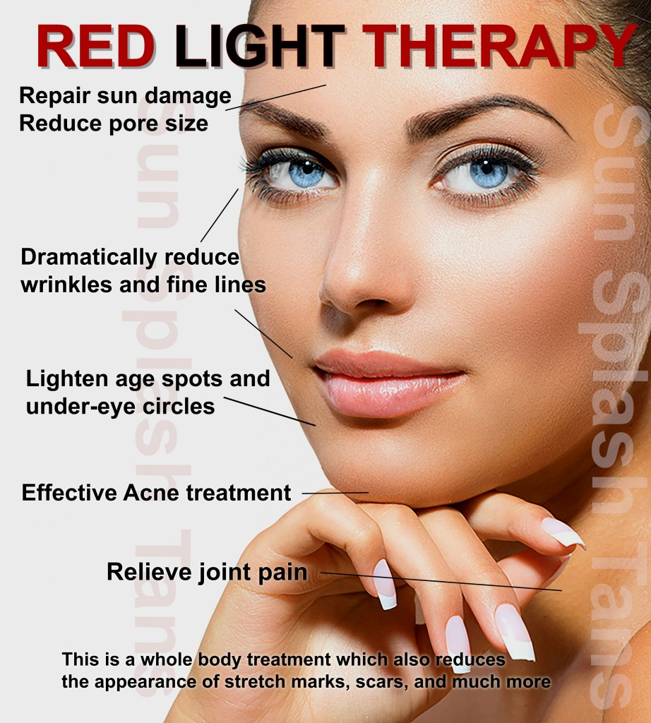 Red Light Therapy Sun Splash Tans Indoor Tanning Salon